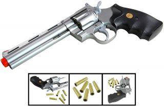 UHC TSD 357 Magnum Revolver 6 inch spring Airsoft Guns Pistols