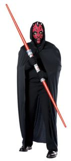 STAR WARS DARTH MAUL ADULT CAPE & MASK LICENSED 15728