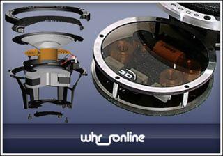 VIBE Audio Space 5 3D 13cm 3 Wege Kompo Lautsprecher System 133mm