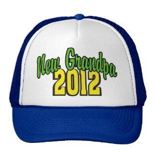 New Grandpa 2012 Mesh Hats