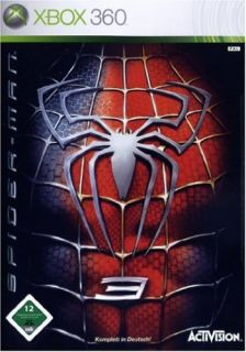 Microsoft Xbox 360 Spider Man 3   Spiderman Marvel   DEUTSCH