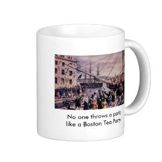 Boston Tea Party Mugs, Boston Tea Party Coffee Mugs, Steins & Mug