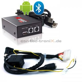 GROM Plus Android USB AUX SD  iPod Bluetooth iPhone für Volvo S40