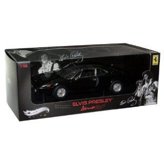 Elvis Presley Diecast Modell 1/18 Ferrari Dino 308 GT4 Hotwheels Elite