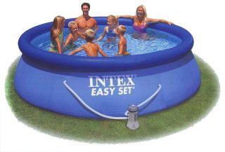 INTEX Easy Set Quick Up Pool 366 x 91 cm Schwimmbecken Komplettset