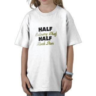 Half Culinary Chef Half Rock Star Shirt