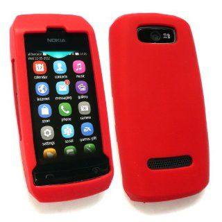 Emartbuy ® Nokia Asha 305/306 Silicon Skin Cover