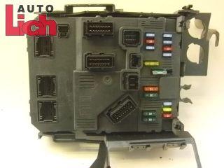 Citroen Xsara Picasso BJ08 HDi 1 6 Sicherungskasten Zentralelektrik