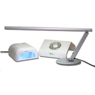 Lichthärtungsgerät + Nagelstudio Arbeitslampe Kaltlicht + Nail