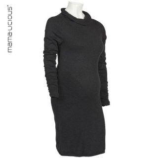 Mama Licious ® Strick Kleid schwarz Gr.L   Umstandskleid   Feinstrick