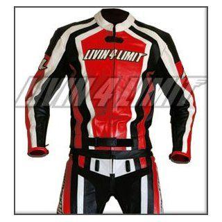 Motorrad Lederkombi Motorradkombi Leder Motorradjacke + Motorradhose