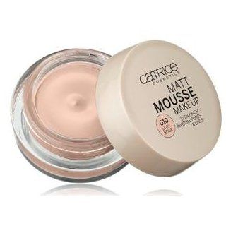 Catrice Cosmetics MATT Mousse Make Up Nr. 010 Light Beige Even Finish