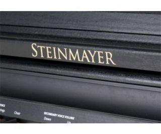 Steinmayer DP 220 Digitalpiano Set schwarz matt E Piano Klavier Bank