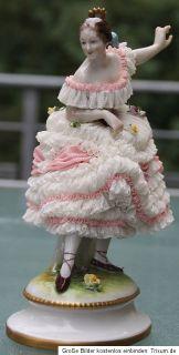 Porzellan Prima Ballerina Aelteste Volkstedter Jugendstil um 1915 Top