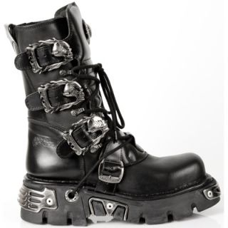 NEW ROCK Metallic Reactor Stiefel M.391 E2 / Gothic/ Metal / Biker