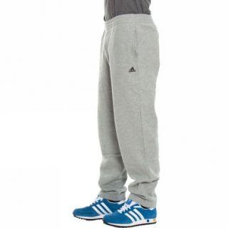 Adidas Ess Sweat Pant Closed Hem Grau Hosen Herren Fitness Neu