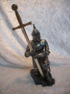 Ritter 25 cm Mittelalter Figur Gothic Fantasy Deko GV 766 383