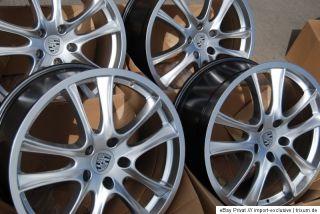 NEU 10 x 21 Zoll GTS Design Felgen für Porsche Cayenne 955 957