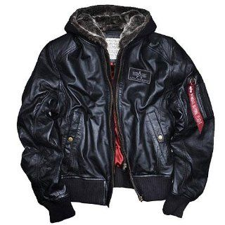 MA 1 D Tec Leather, 3XL, Alpha Industries Flight Jacket