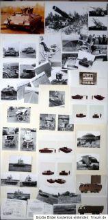 Sammlung Fotos (Teil 2) TECHNIK Panzer TEST Versuchsanordung STUDIEN