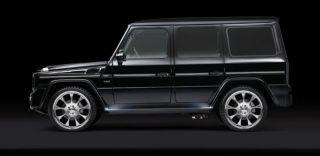 4x BRABUS Komplettrad Monoblock E für Mercedes Benz G Klasse W463 22