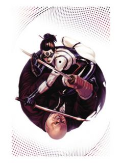 Daredevil #119 Cover Kingpin and Lady Bullseye Poster