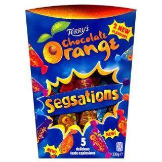 Terrys Chocolate Orange Segsations 330g   Orangen Milchschokolade in