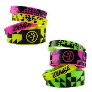 Zumba®   Vibe Armbänder (8er Pack) Sport & Freizeit