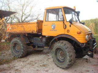 Unimog 406 Diesel Schlepper Allrad Bagger Schaeff Ackerschlepper