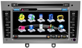 Peugeot 308 408 Touchscreen Autoradio Navigation GPS DVD  USB 3D TV