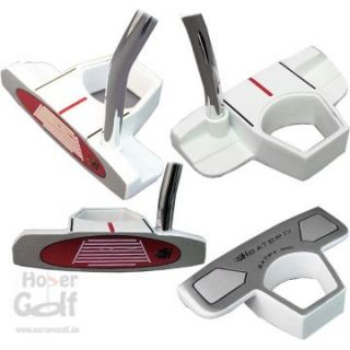 Herren Integra Heater IV White Putter Golf NEU 35
