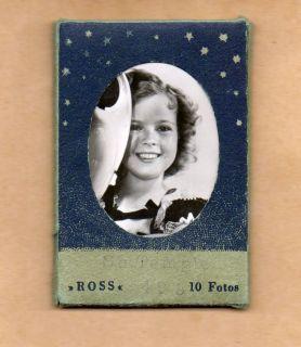 Ross Verlag Kleinbildserie Nr. 408 Shirley Temple 10 Fotos