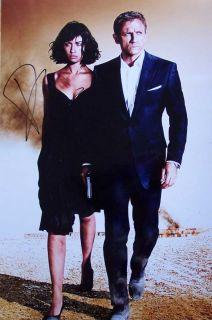 Daniel Craig Autogramm   James Bond, Übergröße