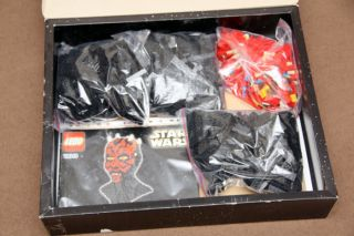 Lego 10018 Darth Maul Complete Boxed Ultimate Star Wars Collectors