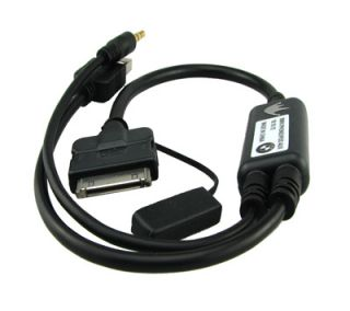 AUTOKABEL INTERFACE MUSIK KABEL Y ADAPTER AMI AUX FÜR BMW MODELLEN
