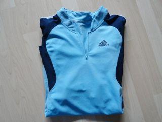 ADIDAS Herren Sport T Shirt Gr. XL hellblau