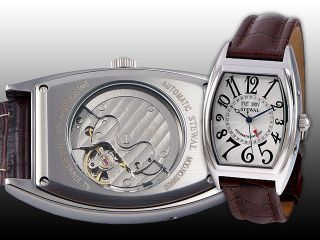 New STEWAL Curvex Fully Automatic Calendarium Watch