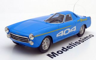 Spark Peugeot 404 Diesel 1965 blue Record Car 118