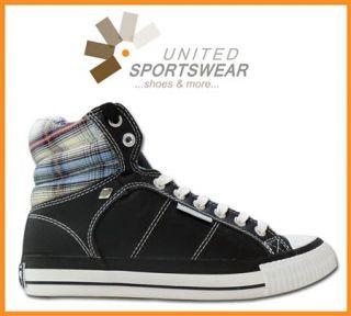 BK British Knights Schuhe Sneaker Atoll Schwarz Blau UVP 54,95 € Neu