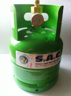 Kältemittel Flasche Leer oder mit wunschfüllung wie R410A