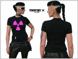 Shirt EBM Techno Hardstyle Neon Rave Cyber Technowear Ravewear