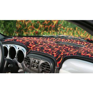 ARMATURENBRETT COVER/DASHCOVER/CHRYSLER PT CRUISER/FLAMMEN/FLAMES