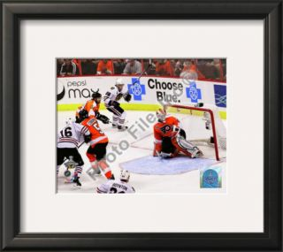 Patrick Kane Game Winning Goal 2009 10 Stanley Cup Finals Framed Photographic Print