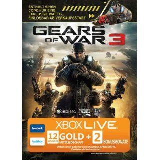 Xbox 360   Live Gold 12 Monate + 2 Bonusmonate und Code für exklusive