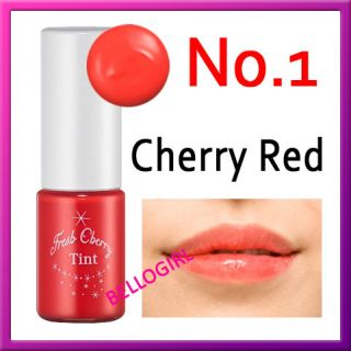 Etude House Fresh Cherry Tint #1 Cherry Red BELLOGIRL