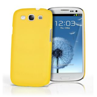 Gelb Hybrid Hard Case Cover fur Samsung I9300 Galaxy S3 III