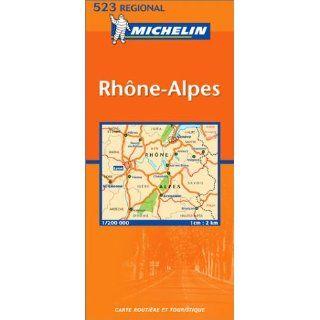 Michelin Karten, Bl.523 : Rhone Alpes, französische Ausgabe: