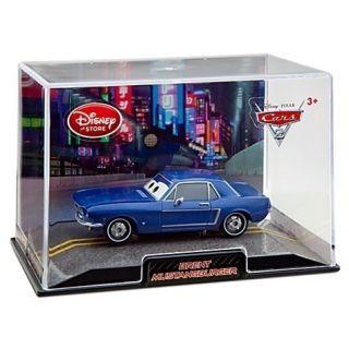DISNEY PIXAR CARS 2 Brent Mustangburger Cars Diecast 143 MODELL Auto