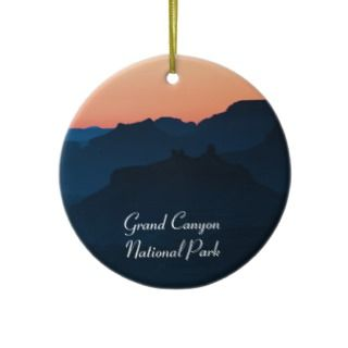 Grand Canyon Navajo Point Souvenir Christmas Ornaments