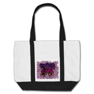 party gurl (girl) graffiti design bags